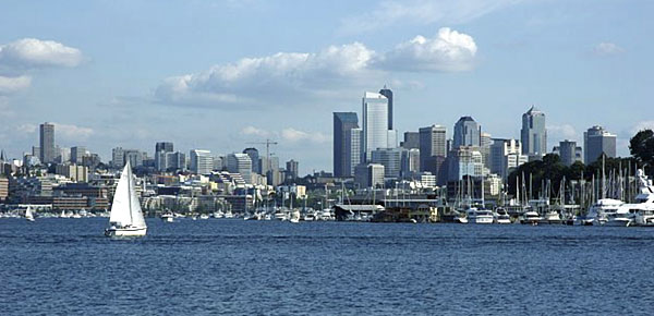 Lake Union, in downtown Seattle