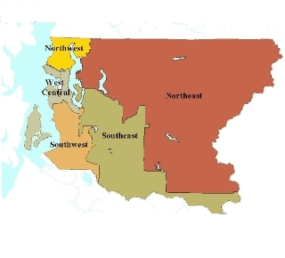 Map of King County