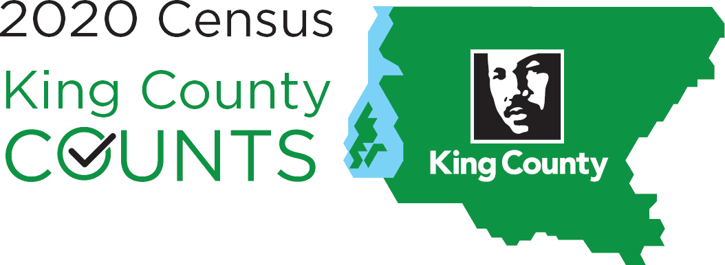 2020 Census King County Counts logo