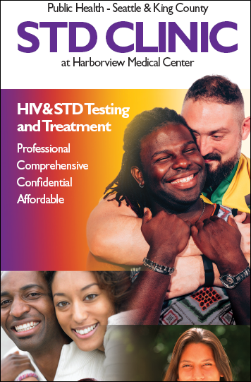 Public Health Sexual Health Clinic brochure