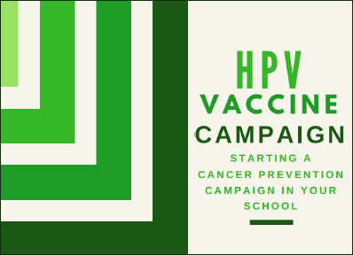 HPV Vaccine Campaign Toolkit for SBHC staff and students.