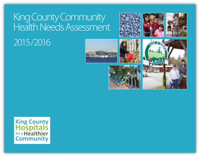 2015-2016 King County Hospital for a Healthier Community report