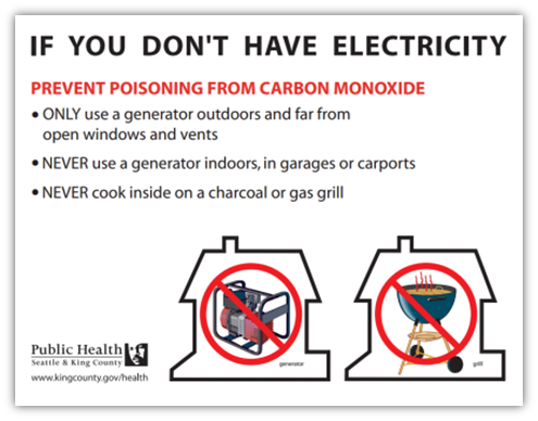 Carbon monoxide flyer screenshot