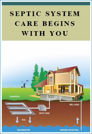 Septic System Care Begins With You brochure