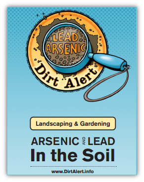 Safe landscaping and gardening around arsenic and lead in soil