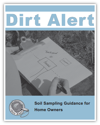 Soil sampling guidance for home owners