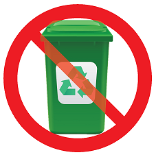 DO NOT put the bottle in your recycling bin.