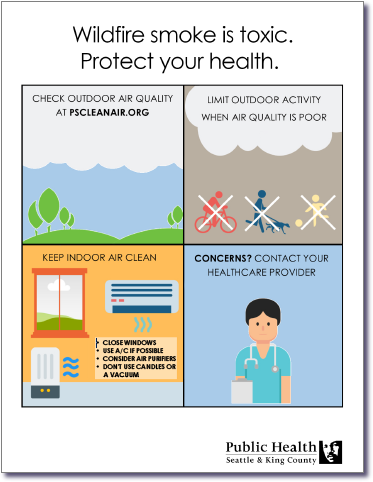 Wildfire smoke is toxic. Protect your health.