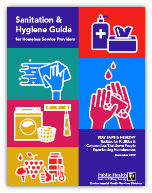 Sanitation & Hygiene Guide for homeless services providers