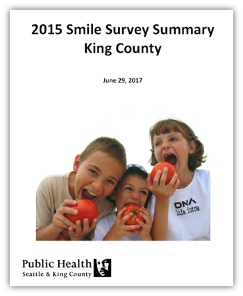 2015 Smile Survey Summary for King County