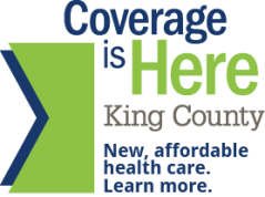 Washington Healthplanfinder for King County logo