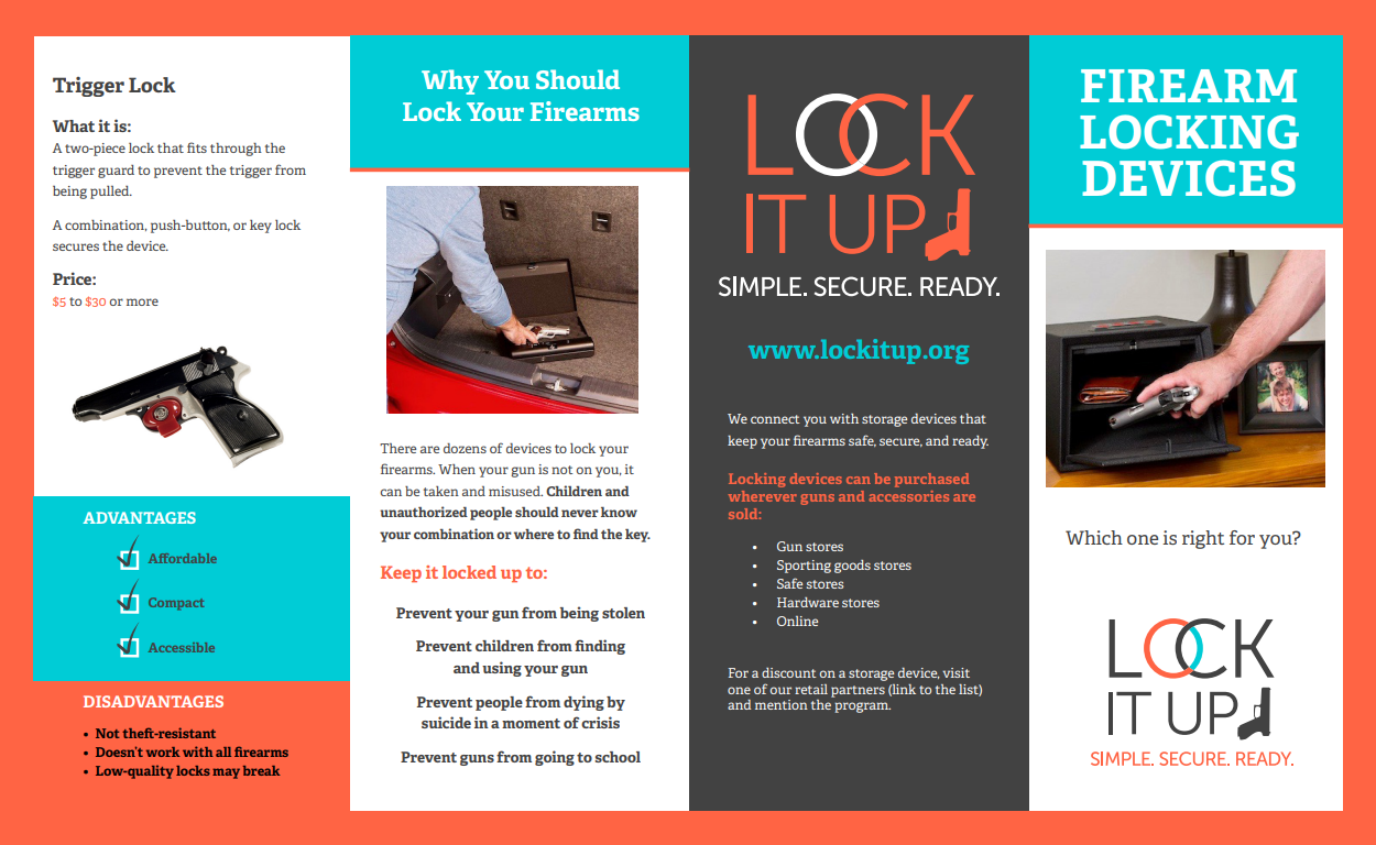 Firearm Locking Devices brochure