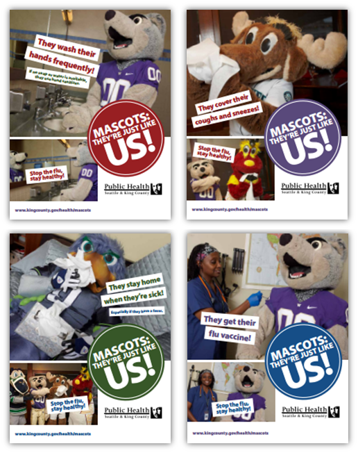 mascot posters