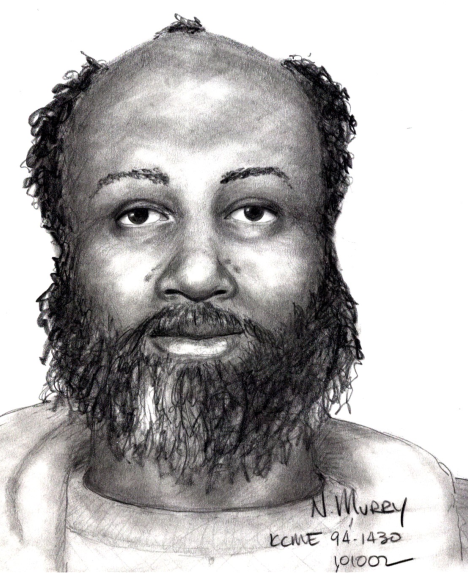 Unidentified remains, Case #94-1430: Adult black male found in a transient camp on 7th Ave, Seattle on December 15, 1994.