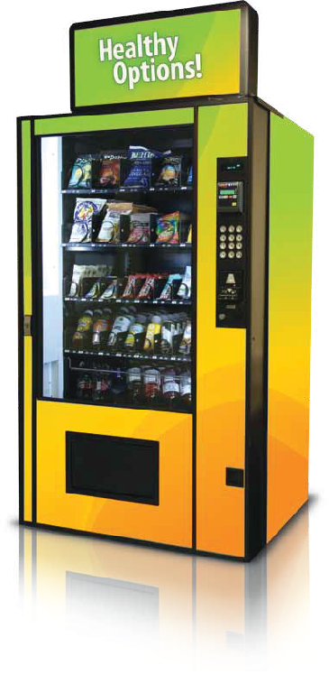 Healthy Options vending machine
