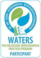 Green Waters logo