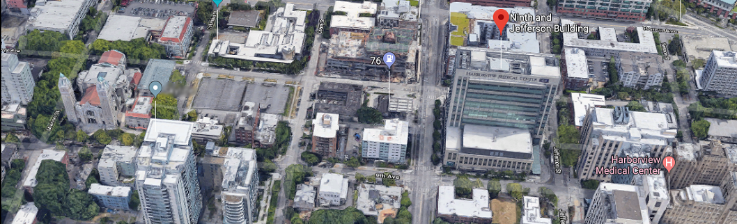 King County Medical Examiner's Office (click image to see Google map)