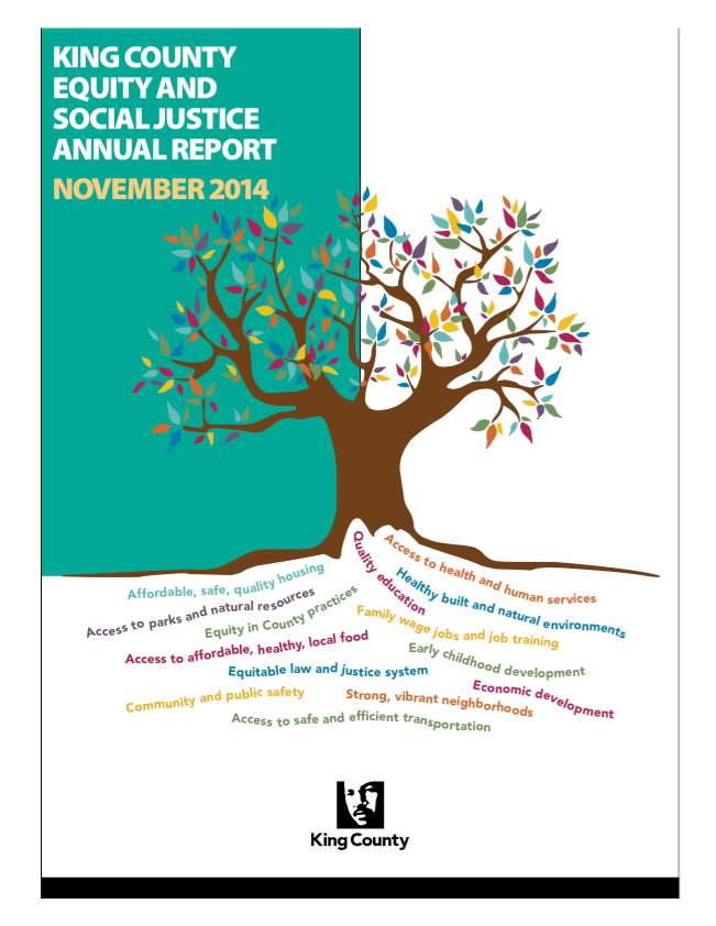2014 King County Equity and Social Justice Report