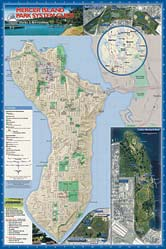 Map: Mercer Island Park System Guide (115K JPEG)