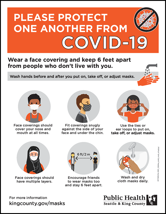 Please protect one another from COVID-19