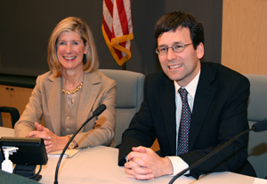 Vice Chair Jane Hague, Council Chair Bob Ferguson