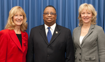 Image: 2013 Council leadership team