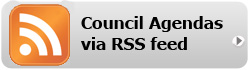 Subscribe to council agendas via RSS