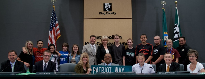 Image: Group Photo for Patriot Way
