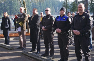 Maple Valley Sheriff's Memorial Dedication Ceremony