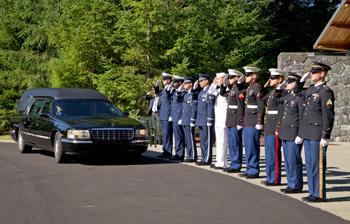 Ceremony for indigent veterans