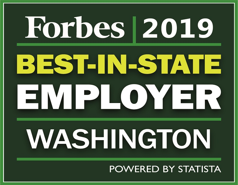 "King County was named a ""Best-in-State Employer"" for 2019 by Forbes"