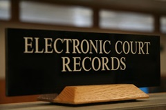 Electronic Court Records