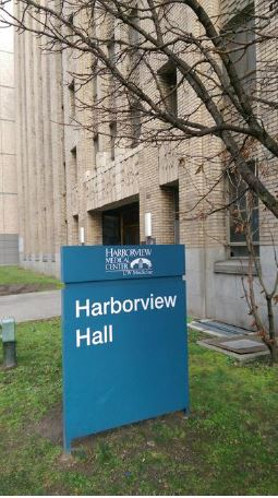 Exterior of Harborview Hall from 9th Street