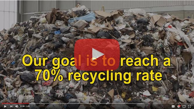 Getting to 70 percent recycling rate (YouTube)