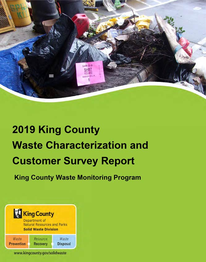 2019 King County Waste Characterization and Customer Survey Report