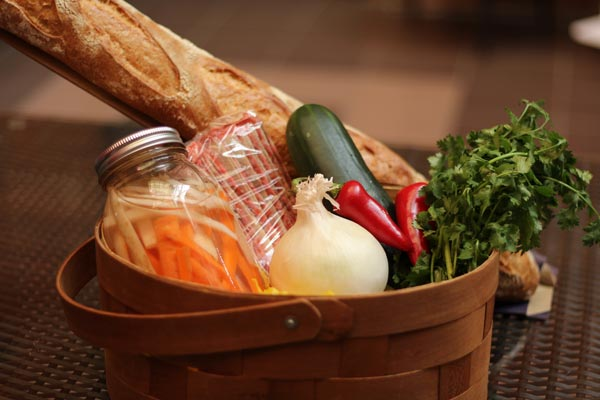 Local/Global Food Gift Basket