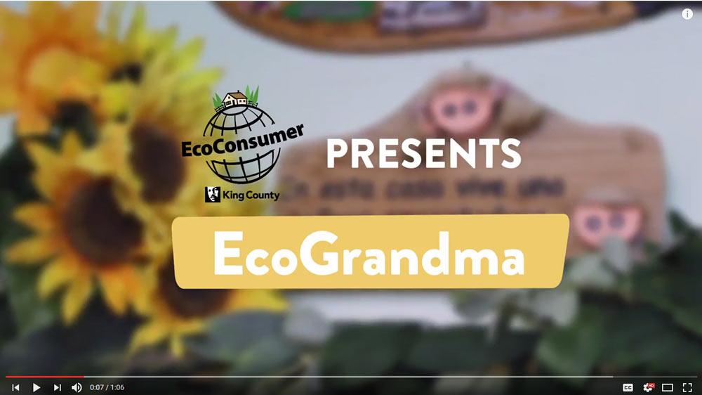 EcoGrandma video En español