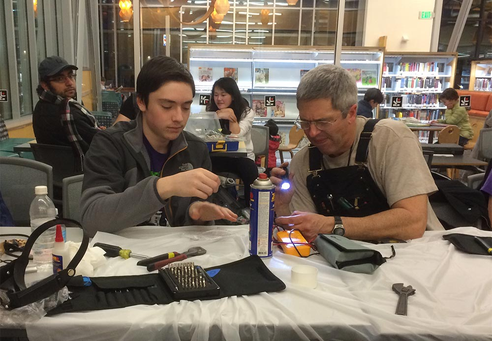 Burien Repair Time fix-it events