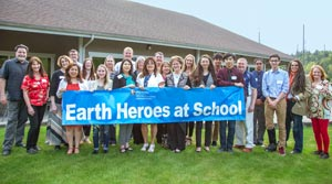 Earth Heroes at School