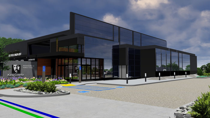 South County Recycling & Transfer Station project: 30% design rendering