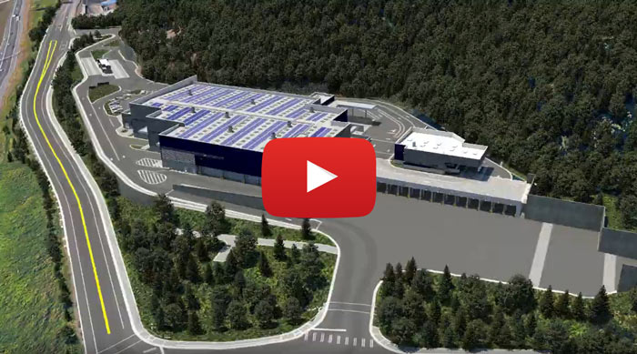 flyover video: 30% design of new South County Recycling and Transfer Station (YouTube)