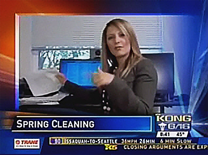 Spring cleaning tips from KING5 TV
