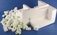 Styrofoam packaging