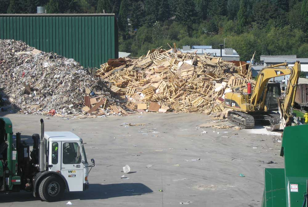image: construction material processing facilities in King County