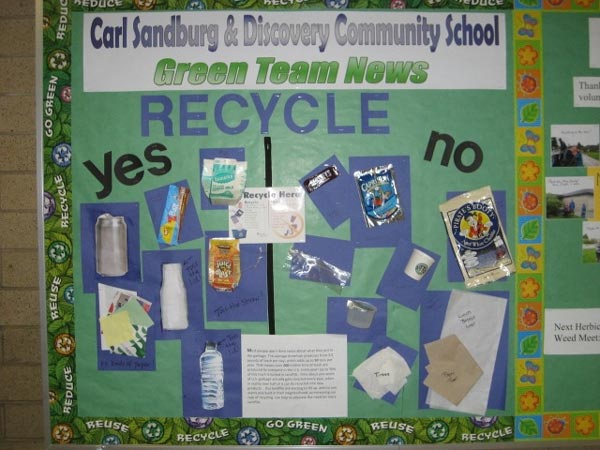 King county green schools program success story carl for Best out of waste ideas for college students