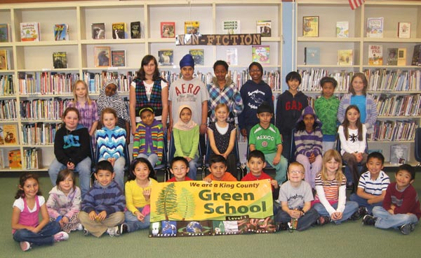 Springbrook's student Green Team