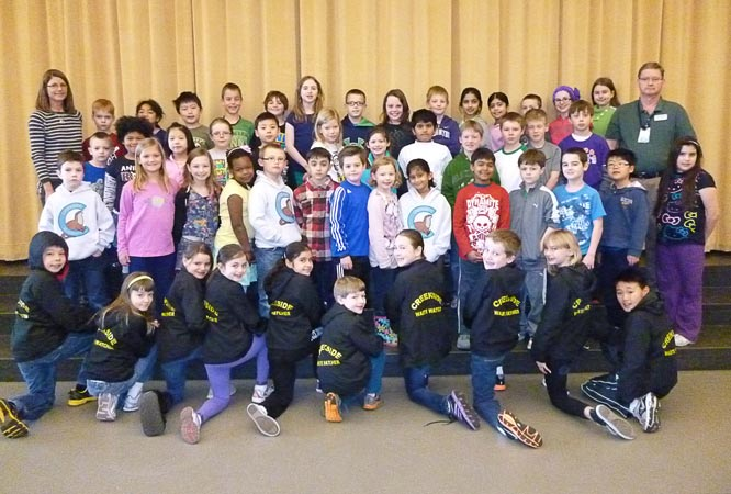 Waste Watchers Team at Creekside Elementary School