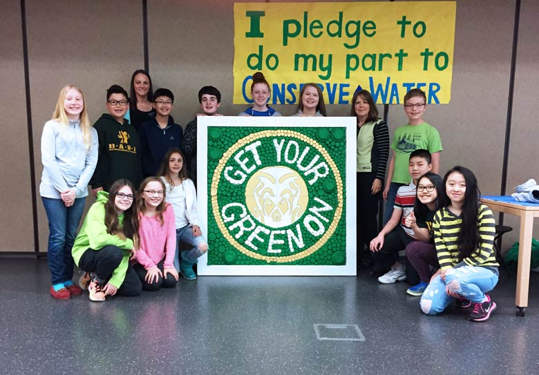 Green Team at Maywood Middle School