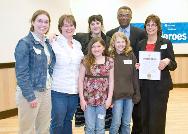 Snoqualmie Elementary School: Earth Heroes Award Recipients