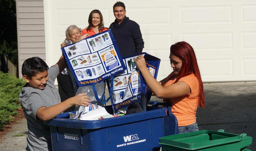 "Learn how to ""recycle right"""